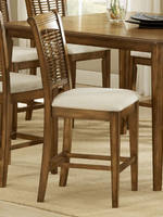 Hillsdale Bayberry Oak Counter Stool - Set of 2