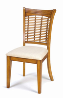 Hillsdale Bayberry Oak Wicker Dining Chair - Set of 2