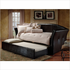 Hillsdale Brookland Dark Brown Leather Daybed with Trundle