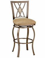 Hillsdale Brookside Brown Powder Coat Diamond Back Counter Stool