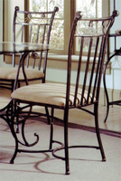 Hillsdale Camelot II Black Gold Dining Chairs - Set of Four