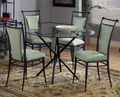 Hillsdale Cierra Black Casual Dining Table