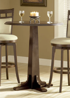 Hillsdale Dynamic Brown Cherry Designs Pub Table