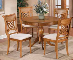 Hillsdale Glenmary / Bayberry 5-Piece Dining Set in Oak