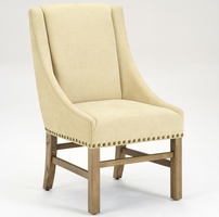 Hillsdale Hartland Dining Arm Chair in Light Washed Oak