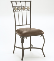 Hillsdale Lakeview Dining Chair with Slate in Brown - Set Of 2