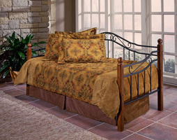 Hillsdale Madison Wood and Metal Daybed