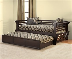 Hillsdale Miko Daybed in Espresso with Optional Trundle
