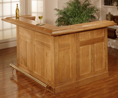 Hillsdale Oak Large Bar