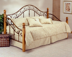 Hillsdale San Marco Wood and Metal Daybed