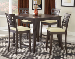 Hillsdale Tiburon Espresso Counter Dining Set