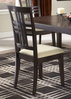 Hillsdale Tiburon Espresso Dining Chairs - Set of Two