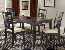 Hillsdale Tiburon Espresso Dining Table