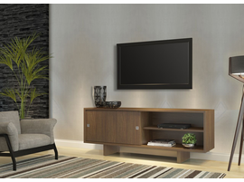 Ideaz International 20620 Angelo TV Cabinet Noa Walnut