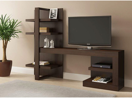 Ideaz International 26102 Onix TV Cabinet Espresso