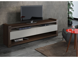 Ideaz International 27011 Noblesse TV Cabinet Wenge/Off White