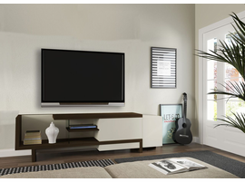 Ideaz International 27017 Urban TV Cabinet Wenge/Off White