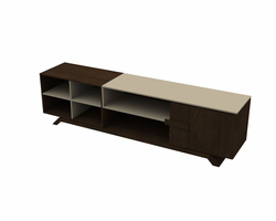 Ideaz International 27021 Elegance TV Cabinet Wenge/Caramel Fendi