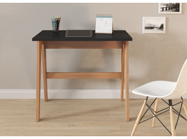 Ideaz International Trendline 26107 Black Wood and Laminate Home Office Desk