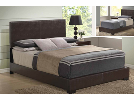 Global Furniture 8103-BR Brown Bed