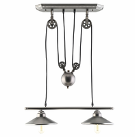 Innovateous Ceiling Fixture, Silver [FREE SHIPPING]