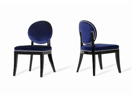 Isabella - Modern Blue Dining Chair (Set of 2)