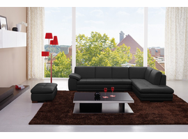 J & M Furniture 625 Italian Leather Sectional Set