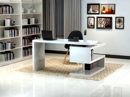 J & M Furniture A33 Office Desk