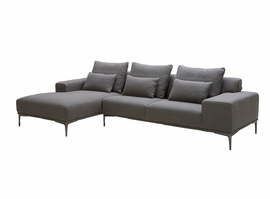 J & M Furniture Christian Modern Sectional in Left Hand Facing