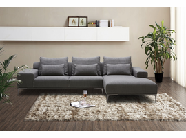 J & M Furniture Christian Modern Sectional in Right Hand Facing