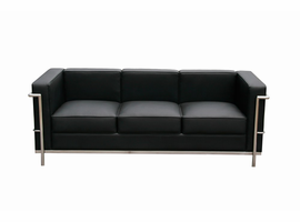 J & M Furniture Cour Leather Sofa Set
