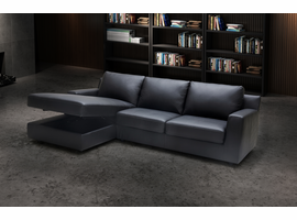 Sectional Sofa With Sleeper J & M Furniture Elizabeth in Left Hand Facing Chaise