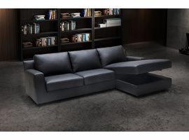 Sectional Sofa With Sleeper J & M Furniture Elizabeth in Right Hand Facing Chaise