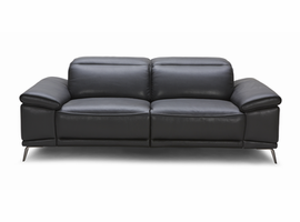 J & M Furniture Giovani Leather Sofa Set