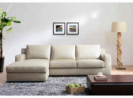 Sectional Sofa With Sleeper J & M Furniture Jenny in Right Hand Facing Chaise