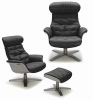 J & M Furniture Karma Chair in Black