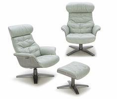 J & M Furniture Karma Mint Green Chair