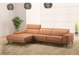 J & M Furniture Lima Sectional in Left Hand Facing Chiase