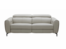 J & M Furniture Lorenzo Sofa in Light Grey