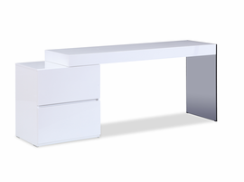 J & M Furniture Mia Modern Office Desk