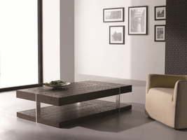 J & M Furniture Modern Coffee Table 857