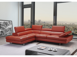 J & M Furniture Venus Sectional In Left Hand Facing Chaise