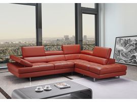 J & M Furniture Venus Sectional In Right Hand Facing Chaise