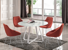 J & M Furniture Vera Dining Table