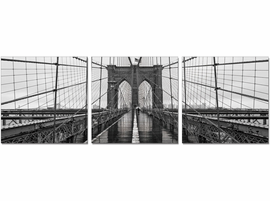 J & M Furniture Wall Art Brooklyn Bridge Classic