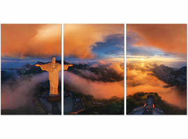 J & M Furniture Wall Art Christ The Redeemer