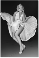 J & M Furniture Wall Art Marilyn Monroe