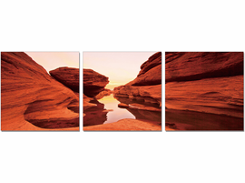 J & M Furniture Wall Art Red Rock