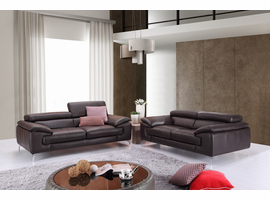 J&M Modern  Leather Sofas & Couches