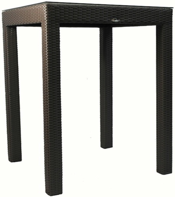 Jaavan Outdoor Classic Square Bar Table